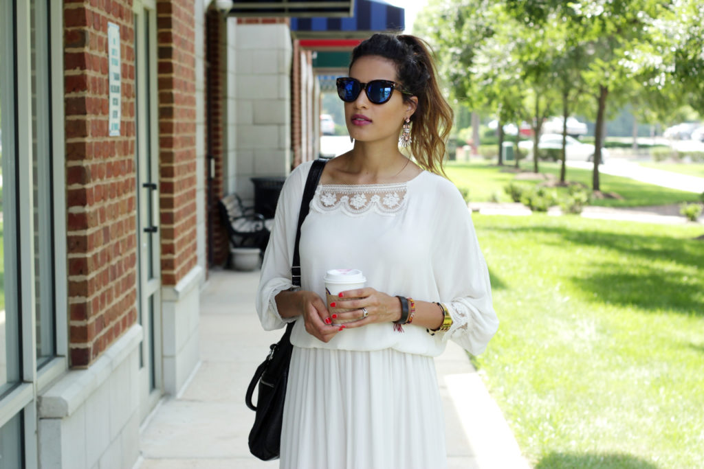 Midi Dress with Sleeves