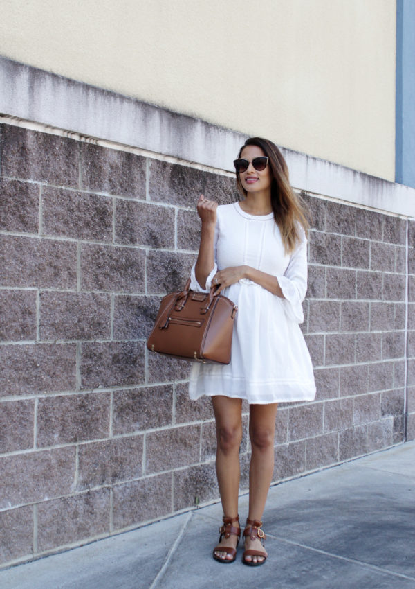 White Lace Dress | Bump Style