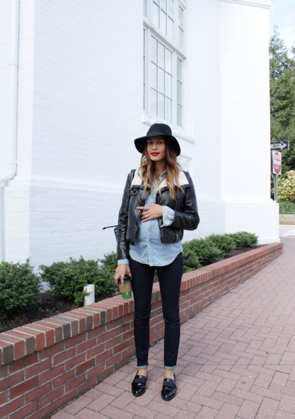 Bump Style: Denim on Denim