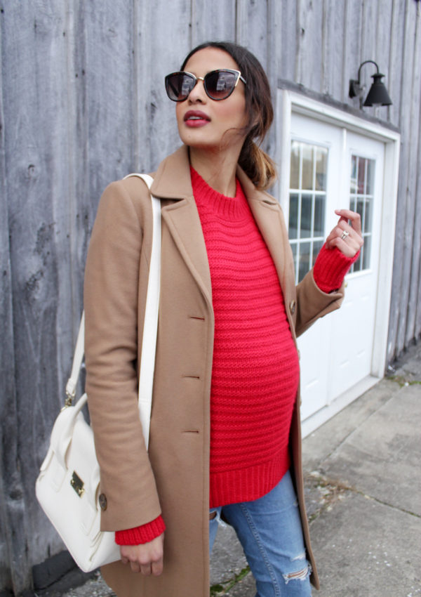 Bump Style: Leopard Heels + Red Sweater