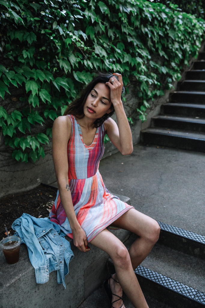 colorful dress style inspo via www.discodaydream.com