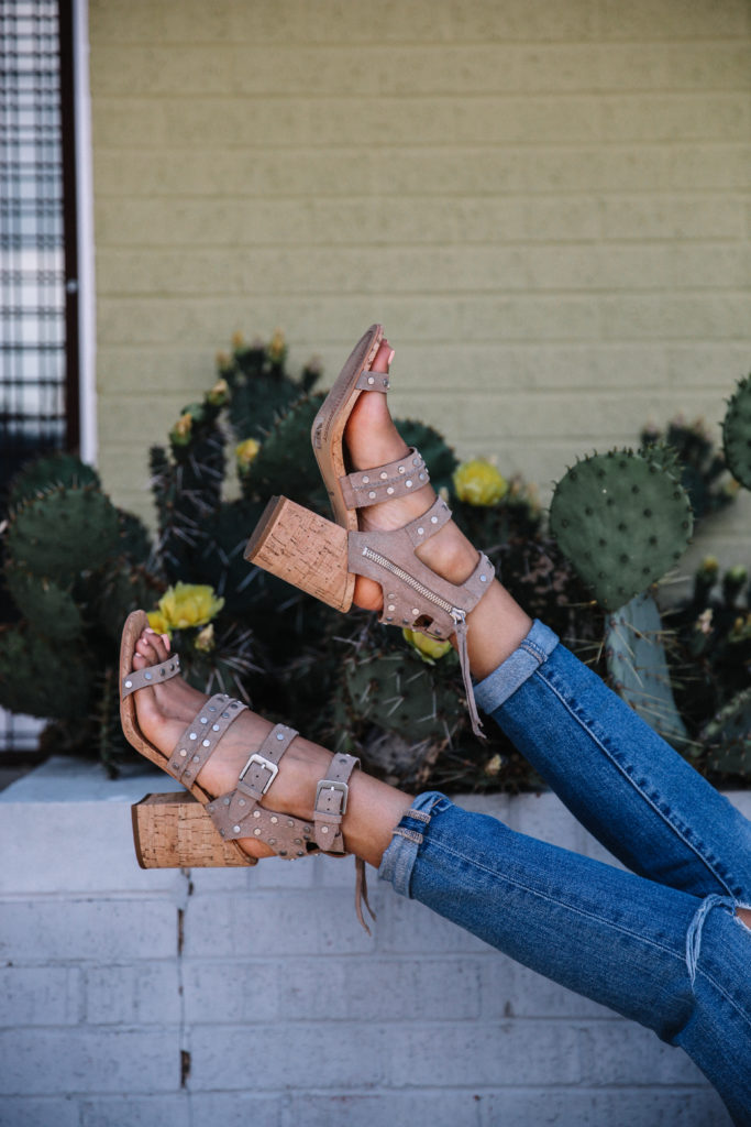 The Perfect Comfortable Heels For Spring via www.DiscoDaydream.com @discodaydream on instagram