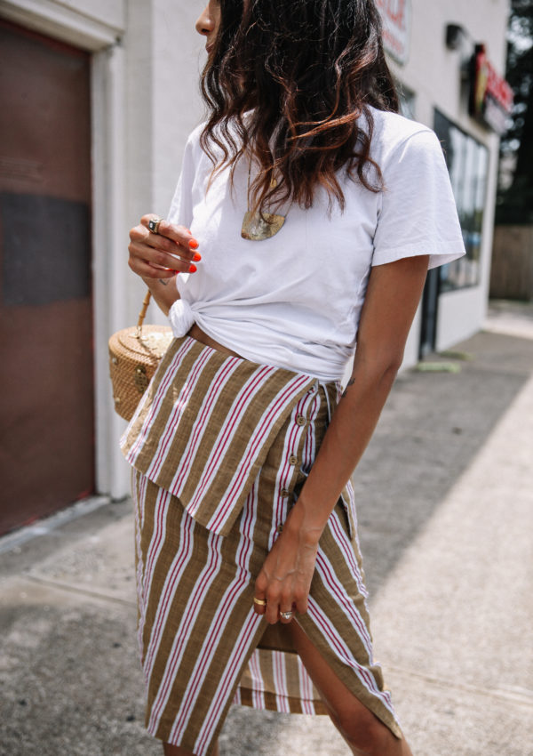 3 Reasons to Wear a White Tee Today