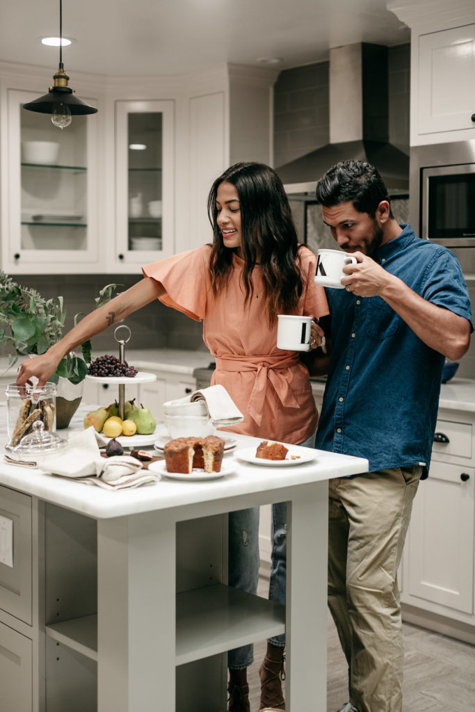 Our Morning Moments with Pottery Barn