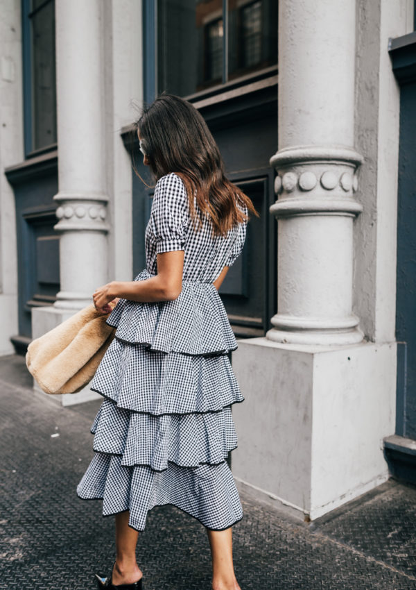 NYFW Recap Part III – Gingham Tiered Dress