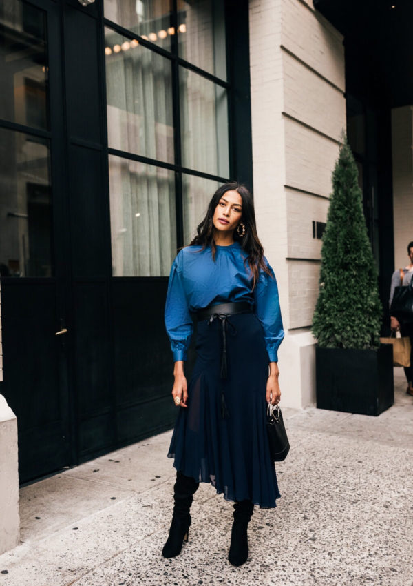 NYFW Day 1 Recap – What I Wore + What I Did