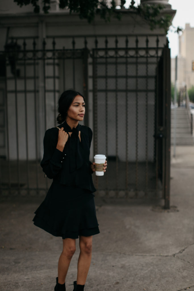 The Perfect LBD for Fall | www.DISCODAYDREAM.COM @discodaydream