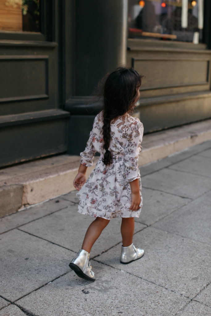 Toddler Girl Style + Fall Trend: Red on Red // Read the Full Story on www.DiscoDaydream.com @discodaydream