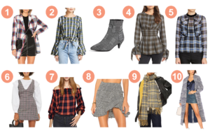 10 Plaid Pieces to Get You Through the Season | www.DISCODAYDREAM.com @discodaydream