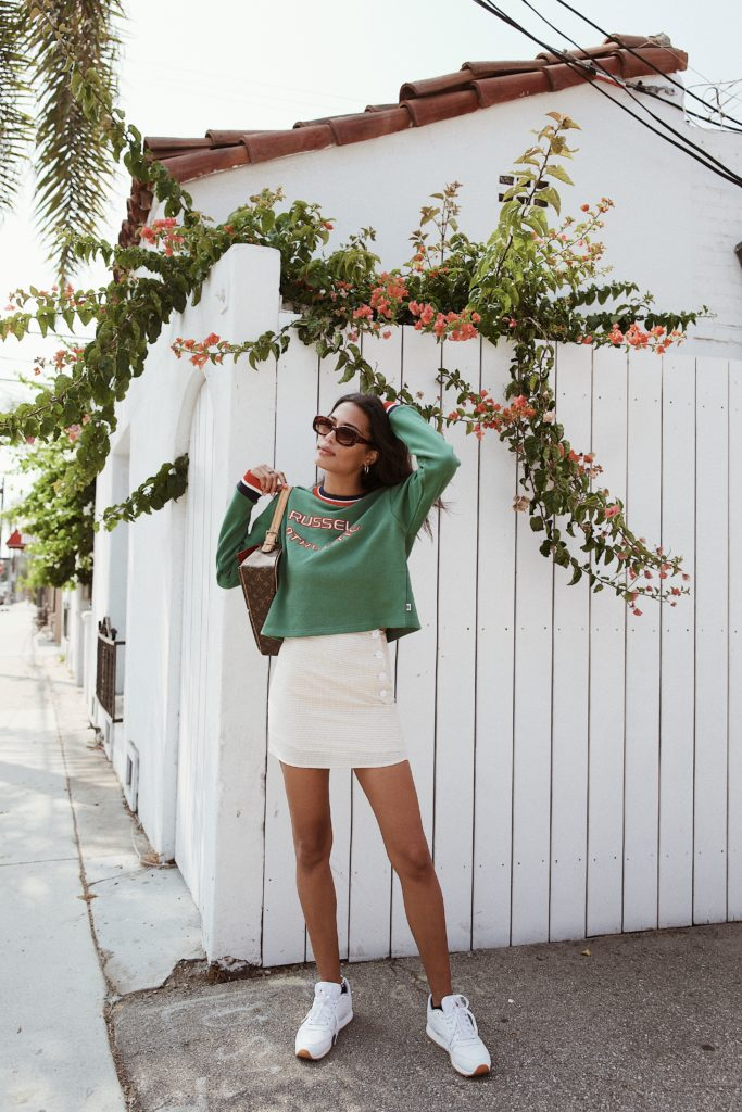 Vintage Sportswear with Lauren Johnson of Disco Daydream feat. Russell Athletic from Urban Outfitters