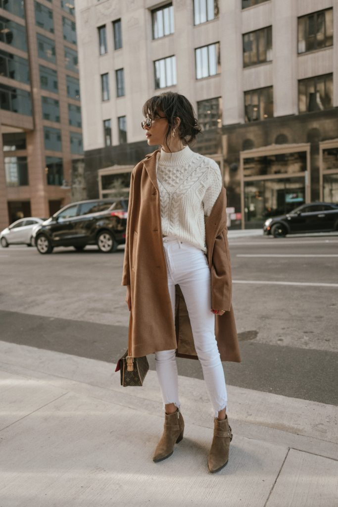 Winter Neutrals from Abercrombie feat. Lauren Johnson of Disco Daydream